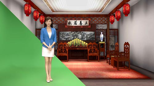 Uni-Leader: U-Studio - Professional Virtual Live Broadcast Solution